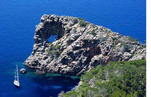 Sa Foradada rocky promontory in Mallorca