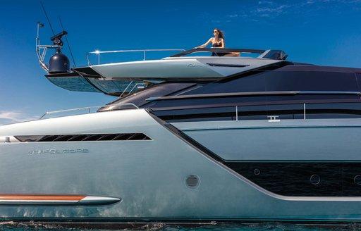 sundeck onboard motor yacht gecua