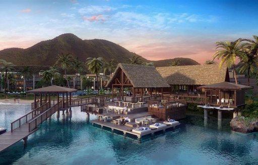 plans for Christophe Marina in St Kitts
