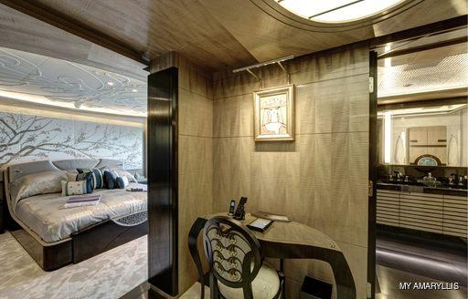 VIP suite on MY Amaryllis