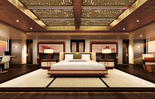 New renderings paint a picture of serenity aboard 88m megayacht 'Illusion Plus' photo 4
