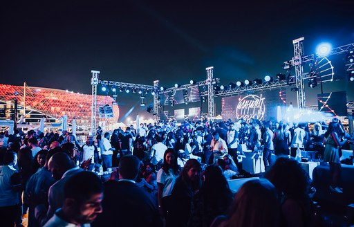 Abu Dhabi grand prix afterparty