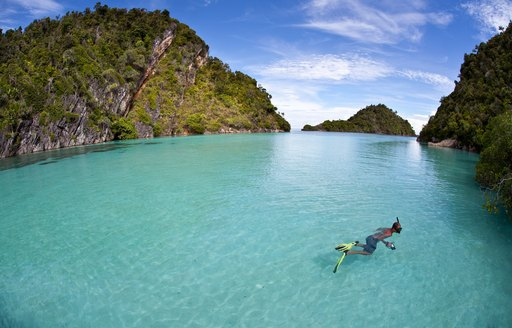 Snorkeling in Raja Ampat