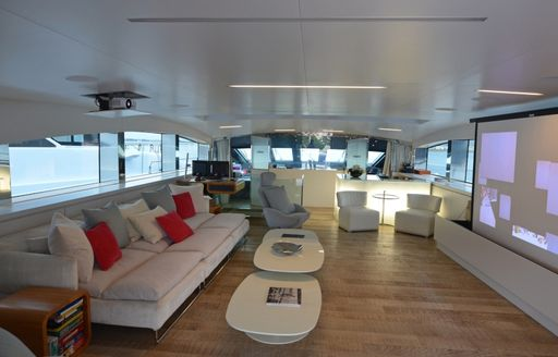 MY BARENTS SEA's Skylounge after refi