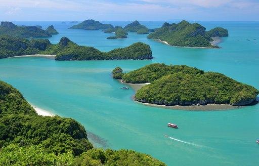 visit Ko Samui on a thailand luxury yacht charter