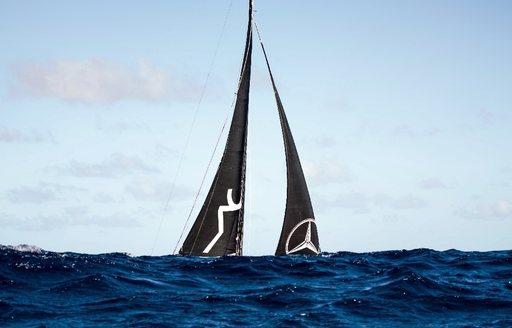 sails of scia on the horizon