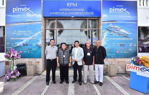 show organisers at the Phuket International Boat Show 2017