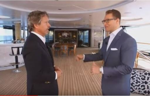 VIDEO: Superyacht SOLANDGE Featured On Major American News Network photo 2