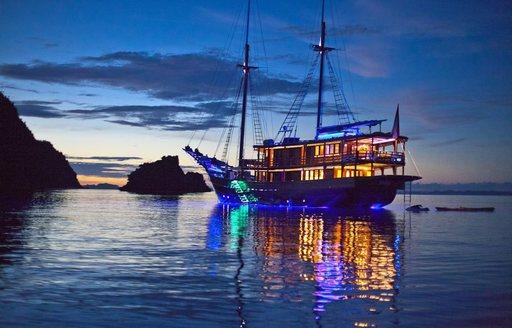 Charter New Superyacht DUNIA BARU in Indonesia photo 9