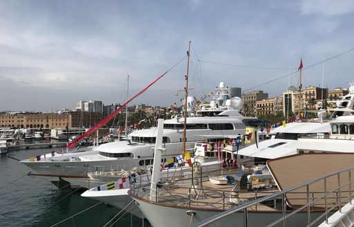 Superyacht 'Alfa Nero' steals the limelight at the MYBA Charter Show 2018 photo 2