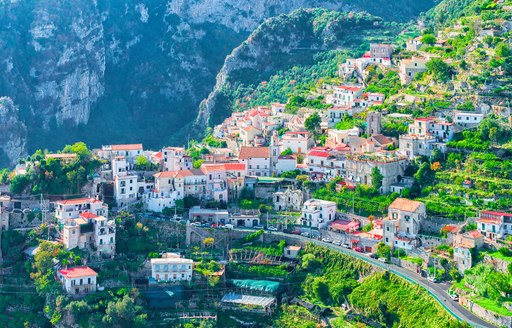 Town of Positano, the ideal yacht charter destination