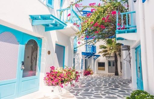Flowers Mykonos town