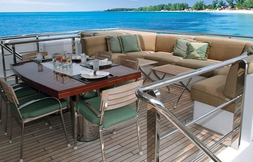 53M superyacht MIZU: Yacht charter special available in the Bahamas photo 2