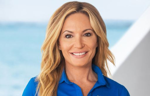 Kate from Below Deck on motor yacht My Seanna