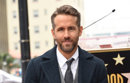 Actor Ryan Reynolds on the red carpet before premiere of Underground Six movie
