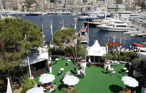 Formula One Monaco Grand Prix Paddock Club
