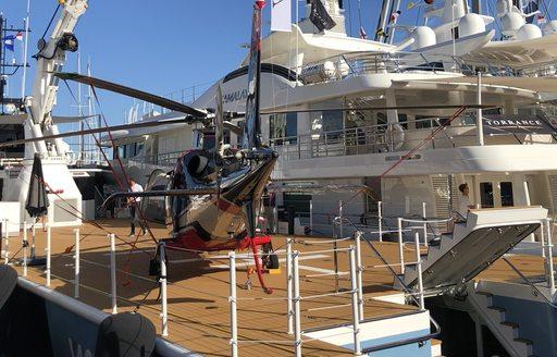 Live photos: Final preparations for the Monaco Yacht Show 2018 photo 4