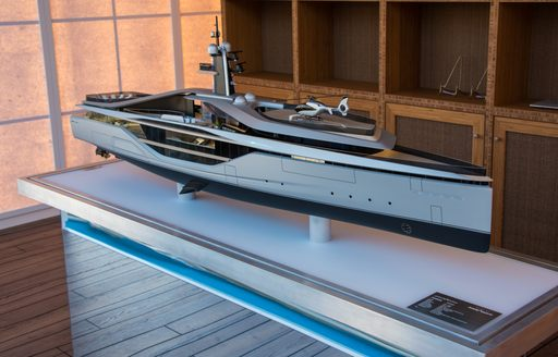 Oceanco stand at the MYS 2021