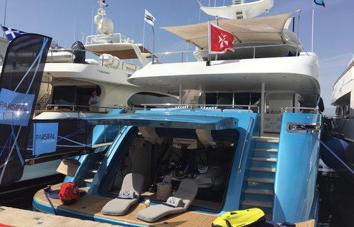 superyacht Barents Sea at the Mediterranean Yacht Show 2017