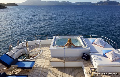 Onboard Jacuzzi - MY Victoria del Mar