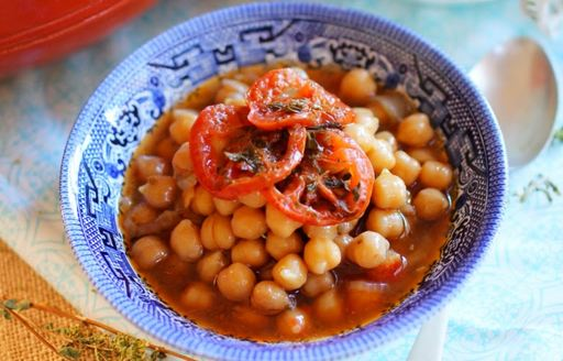 famous chickpeas soup of Sifnos, Greece
