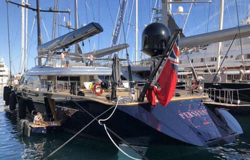 Live photos: Final preparations for the Monaco Yacht Show 2018 photo 5