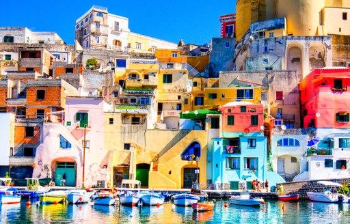 Colorful island of Procida, Naples - Italy