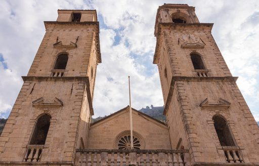 Saint Tryphon cathedral in Kotor Old Town, Montenegro