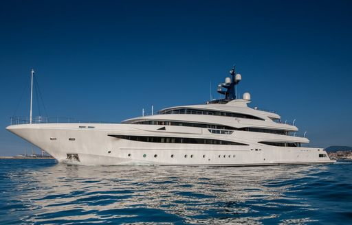 luxury yacht cloud 9 to appear at the 2017 Monaco Yacht Show