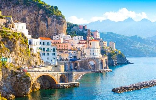 Glorious Amalfi coast in Italy