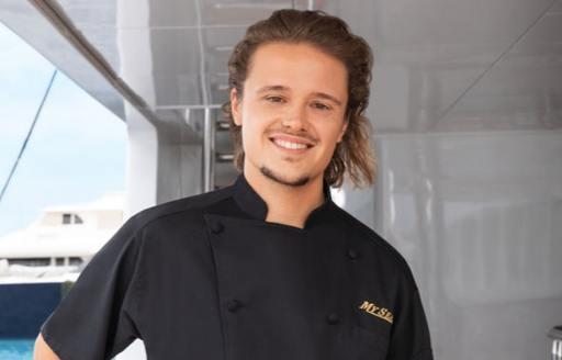Adrian the chef on Below Deck season 6 on board superyacht my seanna