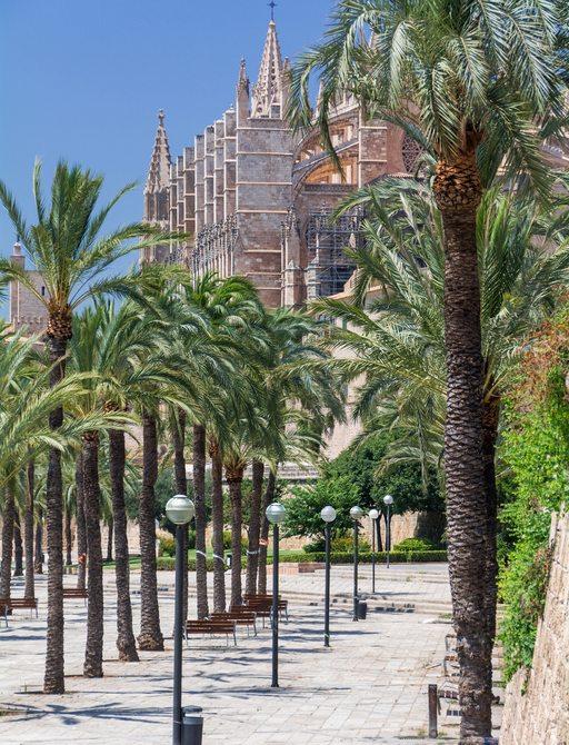 Palma de Mallorca in the Balearics