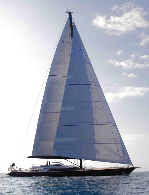 sailing yacht PERSEUS^3 is available for charter over New Year's Year
