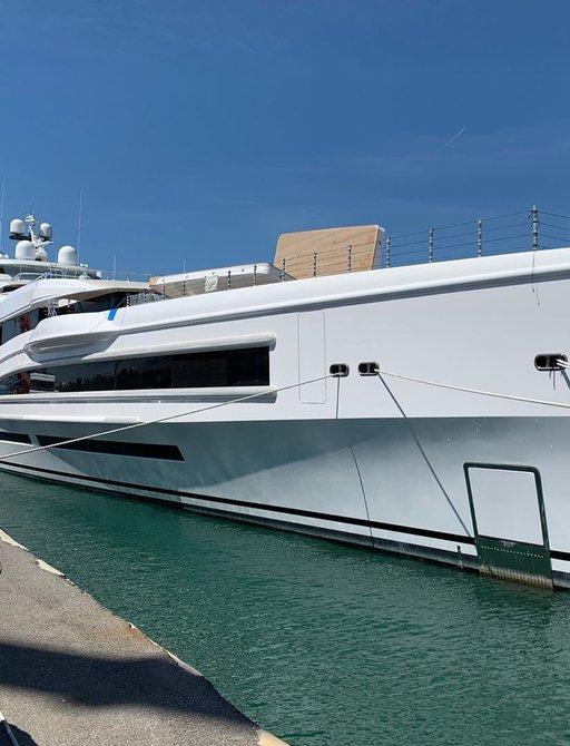 luxury yacht lana