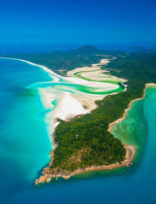 Hill Inlet, Whitsunday Island - Whitsunday Islands National Park - Queensland - Australia