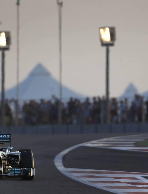 the abu dhabi grand prix will close the formula 1 season