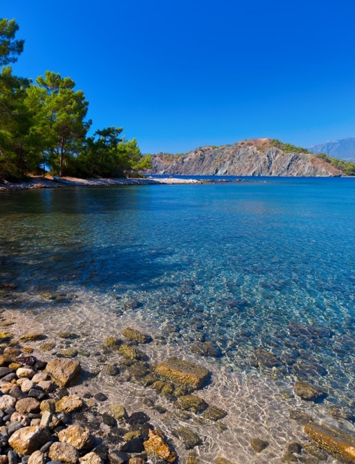 The Turquoise Coast is home to many fine beaches