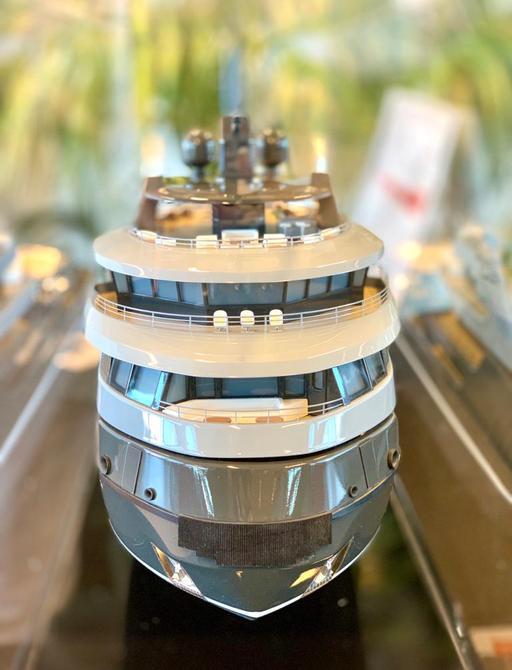 RAGNAR luxury yacht facing head-on