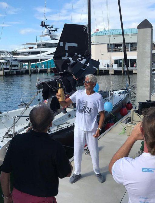 Co-founder of Nuvolari & Lenard completes 43 day solo transatlantic crossing  photo 6
