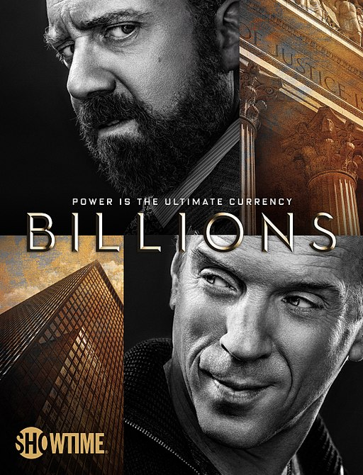 A promotional poster for The Billions.
