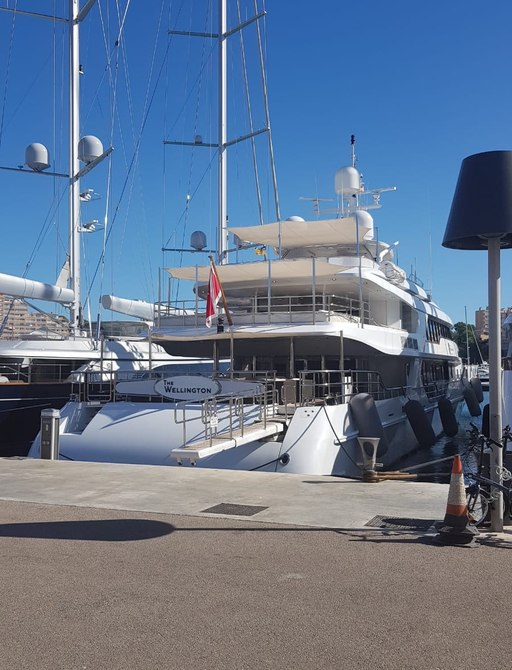 superyacht the wellington in palma