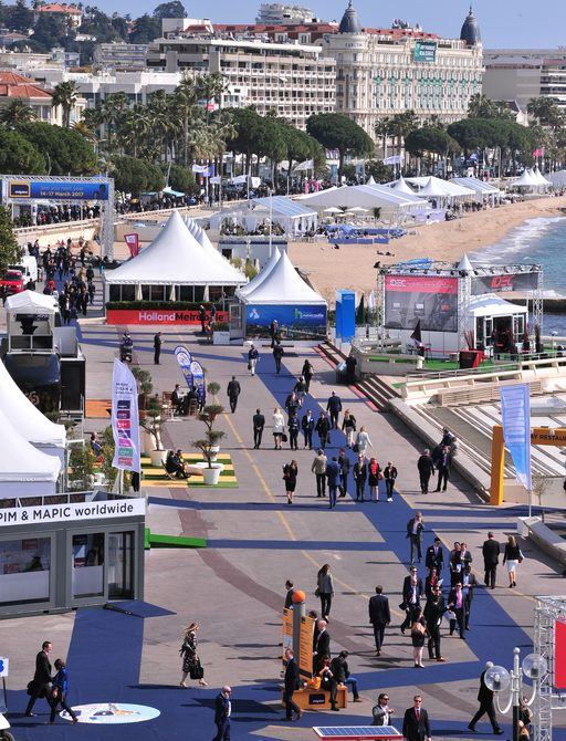 view of Cannes at MIPIM