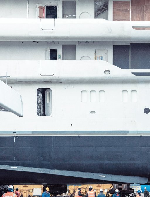 Largest fully-custom Amels superyacht close to technical launch photo 1