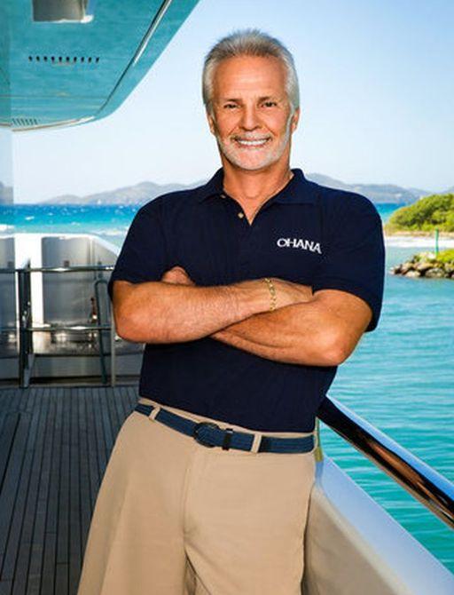 Captian Lee in Ohana yacht uniform