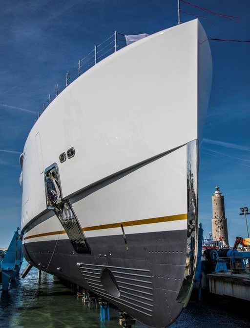 the brand new benetti superyacht ALKHOR aka FB273 in Livoro