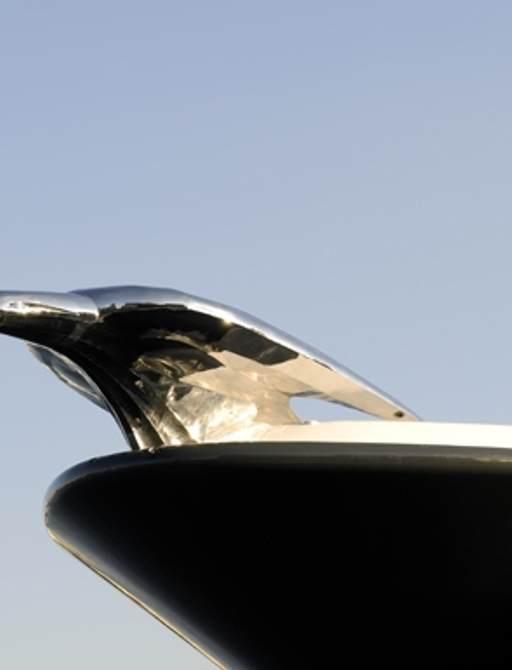 Charter Yacht KISMET Unveils Beautiful Silver Jaguar photo 1