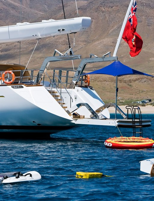 Superyacht ETHEREAL's toys and tenders