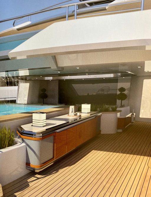 Cosmos yacht interiors
