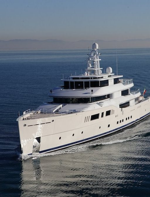 Superyacht Grace E has been nominated for a number of awards