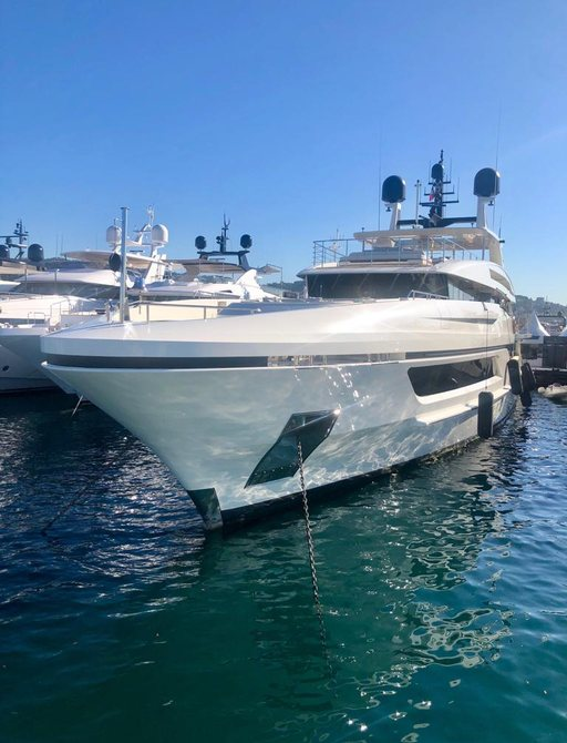 Yacht at Cannes Yachting Festival 2019